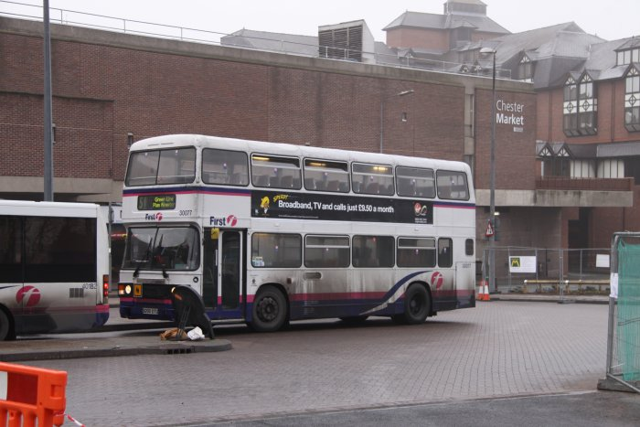 in First Bus livery