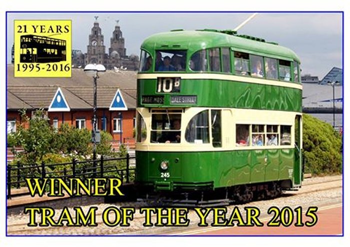 Tram of the Year 2015